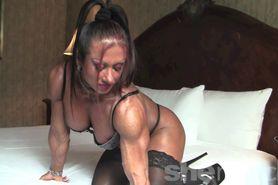 hot ass hot butt nice rack muscle woman