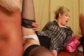Piss: Fully clothed pissing threesome