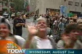 Teen Flashes Boobs On The Today Show
