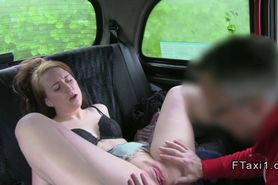 Brown haired amateur doggy style fucked