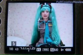 Hatsune Miku Vocaloid Cosplay Porn