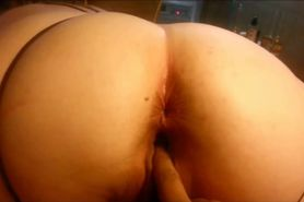 Chubby MILF loves anal games