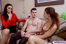 Stepmom Bianca Breeze threesome action
