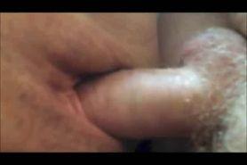Horny mature couple fuck closeup