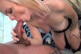 Sexy Blonde Ex Sucks And Rides Dick