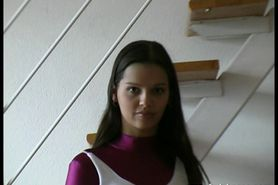 Eve Angel in spandex