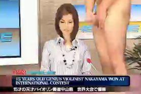 Maria Ozawa Newscaster Bukkake