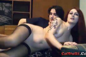 Young amateur couple Goth Souls bj