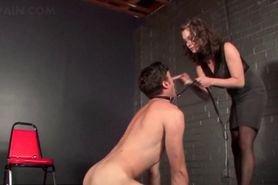 Kinky sex slave gets ass toyed and tortured