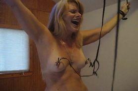 Wife nipple clamps