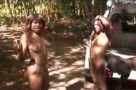 African sex in het bos deel 4