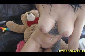 Teddy Bear Getting Laid Tonight