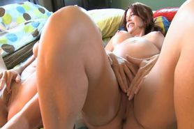 Pregnant Mom And Her Daughter Gets
