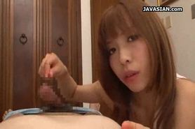 Asian Teen for a Handjob Action