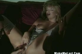 Hot Blonde Teri Rides On Cock