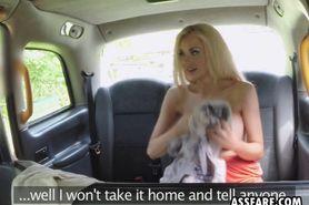 Barbie Bangs Facial In Backseat