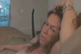 Mature Crack Whore Sucks On Shaft