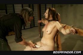 Tied Waxed Toyed Whipped And Titty Clipped