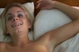 Hot blonde babe fucked hard - POV