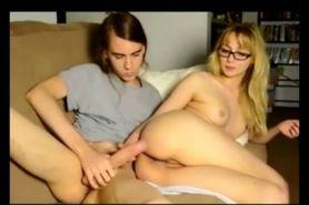 Cuckolding her Boyfriend Via Video