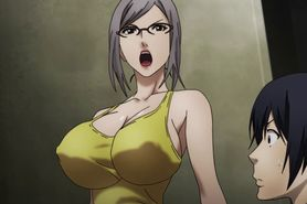Prison School BD #2 uncensored anime scenes