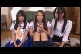 Horny Japanese JAV Girls Fucking