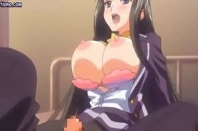 Hentai big boobs bounce while fuck