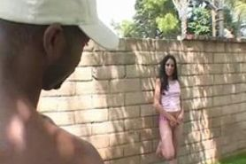 Awesome Latin Girl Fucked By Hung Black Guy!!