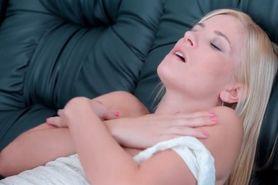Blonde cutie Aprilia craving for hard big cock