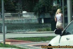 Hitchhiker teen Tucker Starr cum blasted