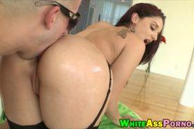 Big round ass Sheena Ryder anal banged