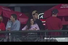 Feeling My Girlfriends Tits At A Baseball Game