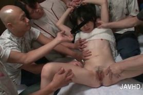 Teen Asian slave submitted to hardcore sexual teasing