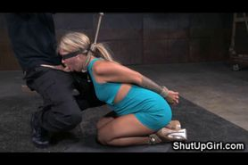 Tied Up Teen Gets Brutally Gagged!