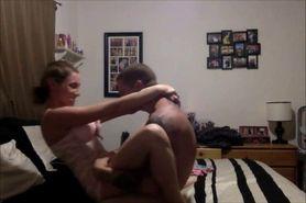 Horny amateur couple 1st sex tape