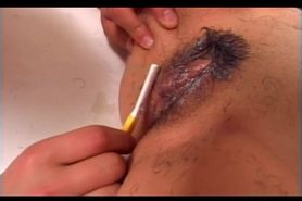 Teen jap girl used as sex slave gets pussy shaved