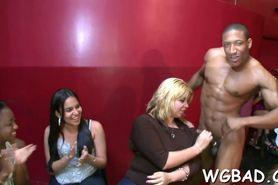 Steamy hot striptease