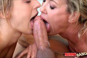 Brandi Love and Natalia Starr sharing bf