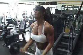 muscle hot woman sexy