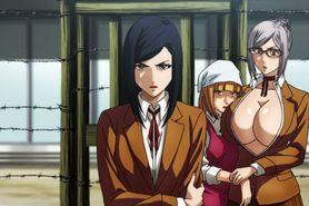 Prison School BD #5 uncensored anime scenes