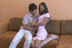 Jeune Couple Russe