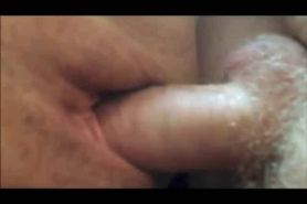 Shaved mature pussy fucked