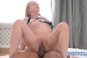 Sexy 21 year old blonde gets her