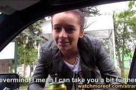 Stranded teen Vanessa Rodriguez fucked