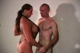 Female Bodybuilder Takes Control