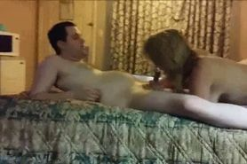 His wife loves watching him fuck