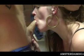 Sex starved tourist fucking slut ass and getting BJ