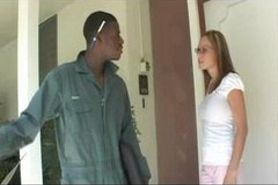 Big Titty MILF Gets Fucked By Younger Black Guy!!