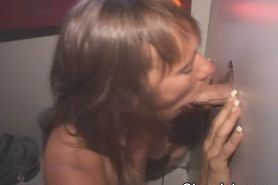 Wild Mature Amateur Girl At Glory Hole